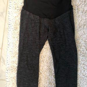 Maternity cropped leggings